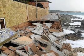 'Gloria' deja daños millonarios en la costa del Llevant de Mallorca