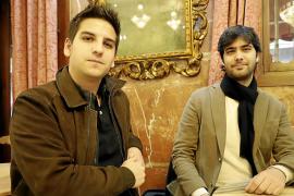 Los compositores Bernat Quetglas y Magí Garcías