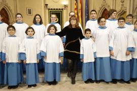 Maria del Mar Bonet dedica su Medalla d'Honor a su «maestro» Jaume Mir