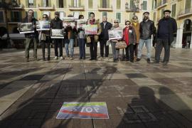 La sociedad civil se une para reclamar un concurso de ideas para la Plaça Major