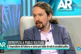Pablo Iglesias en El programa de Ana Rosa