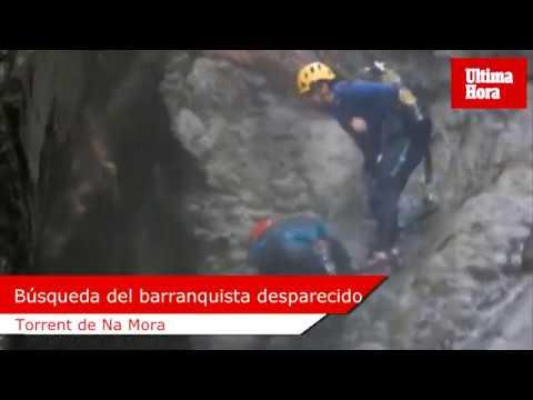 Piden no realizar el torrent de na Mora mientras buscan al barranquista desaparecido