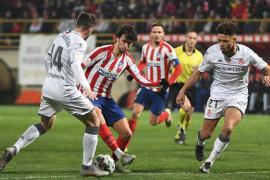 El Atlético de Madrid, apeado de la Copa en León