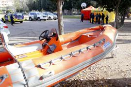 Sólo quedan «un par de zonas del torrente por inspeccionar» en busca del desaparecido en Mallorca