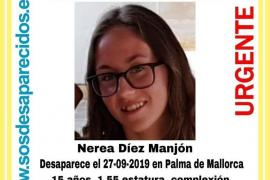 Desaparecida en Palma una menor de 15 años