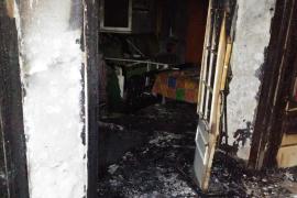 Una mujer de 92 años, con quemaduras graves tras incendiarse su piso en Ciutadella