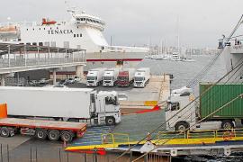 La subida de los fletes ha costado ya 8 millones a los transportistas de Baleares