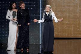 Benedicta Sánchez, Goya a la mejor actriz revelación con 84 años