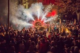 Cortes de tráfico en Palma por la Diada Ciclista y el Correfoc