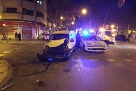 Accidente, atropello y fuga en Plaza Fleming de Palma