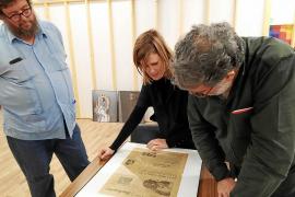 Fontcuberta y Pedro G. Romero, de investigación en Casa Planas
