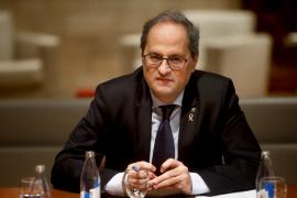 La Mesa del Parlament retira el acta de diputado a Torra