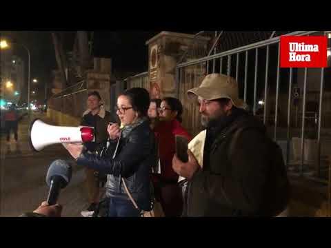 Decenas de manifestantes piden una auditoría al IMAS