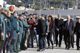 Marlaska anuncia que se mantendrán todos los medios para localizar al barranquista desaparecido