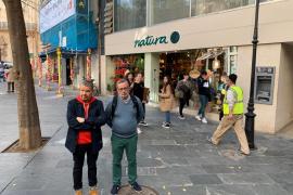 Chicote, de rodaje en Palma