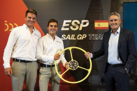 Joan Cardona y Mateu Barber, en el proyecto SailGP
