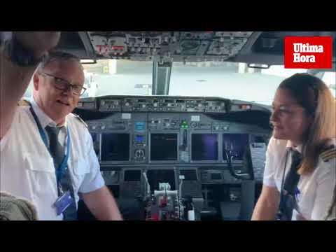 Emotivo homenaje a Luis Herrero, comandante de Air Europa