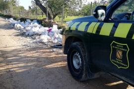 Vertido ilegal de residuos en Marratxí