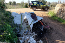 Denuncian la aparición reiterada de vertidos ilegales en Marratxí