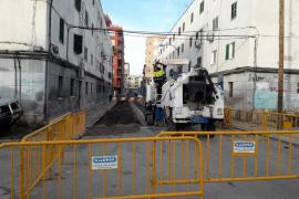 Arrancan las obras de mejora de las calles de Camp Redó