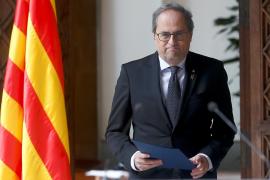 Torra espera que Sánchez «no excluya» la autodeterminación en su encuentro