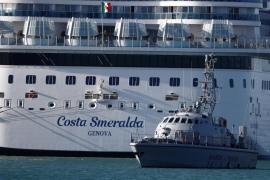 La crucerista con síntomas de neumonía no desembarcó en Palma