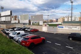 Inaugurado el nuevo aparcamiento junto al campo de fútbol d'Es Rafal