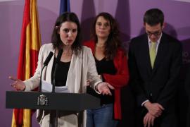 Irene Montero llama a construir una «inquebrantable alianza feminista» contra el odio de la extrema derecha