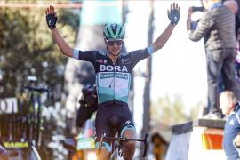 Buchmann vuela hacia la victoria en Deià por delante de Valverde