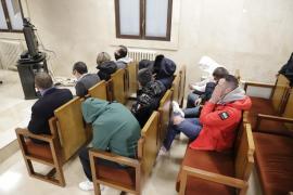 Visto para sentencia el juicio contra la presunta banda de narcotraficantes que introducía cocaína en Mallorca