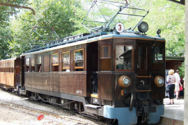 El tren de Sóller retrasa dos días el inicio de temporada por una avería provocada por el temporal 'Gloria'