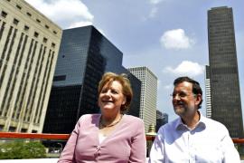 Rajoy recibe el aval de Merkel