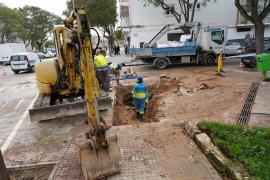 6.500 afectados en Palma por cortes de agua a causa de tres averías