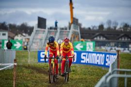 Lucía Gómez, mejor española en el Mundial de ciclocross