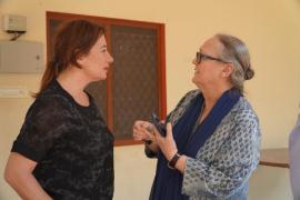 Armengol inicia su viaje oficial a la India