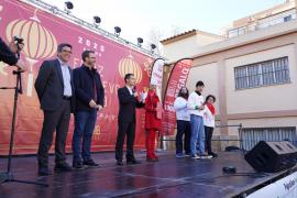 Rifirrafe entre el alcalde de Palma José Hila y la regidora Sonia Vivas en el Año Nuevo Chino
