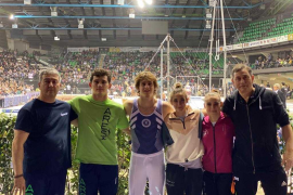 El Xelska sube al podio en la Serie A Italiana de gimnasia artística