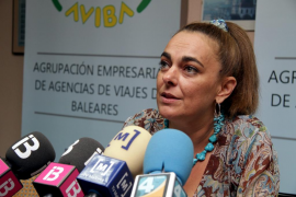 SYLVIA RIERA, PRESIDENTA DE LA AGRUPACION DE AGENCIAS DE VIAJES DE BALEARES (AVIBA)