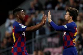 Ansu Fati y Leo Messi lideran el triunfo del Barça
