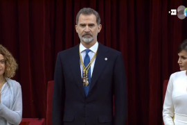Felipe VI: «España no puede ser de unos contra otros, debe ser de todos y para todos»
