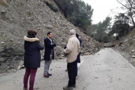 El Consell de Mallorca inicia las obras en la carretera entre Alaró y Orient