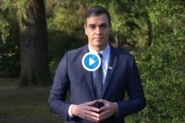 Sánchez, contra el cáncer: «Hay motivos para la esperanza»