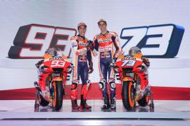 Los hermanos Márquez se presentan con el Repsol Honda 2020
