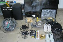 Detenido un joven de 26 años por robos en comercios de Portocolom