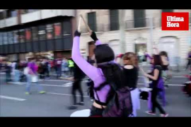 Manifestación del Día de la Mujer