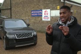 Anthony Joshua - Range Rover SVAutobiography