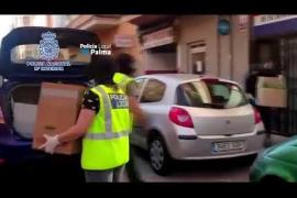 Detenidos por el 'supermercado' de droga en la plaza Serralta