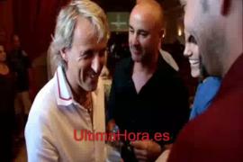 Jesús Calleja, en el Club UH