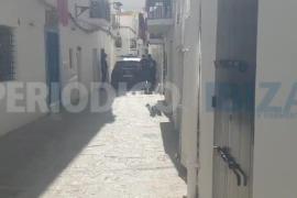 Operación policial con varios registros y detenidos en Ibiza