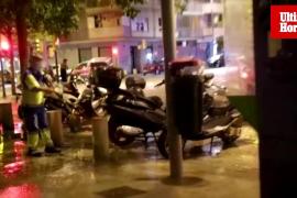 Cort retoma la desinfección de calles de Palma